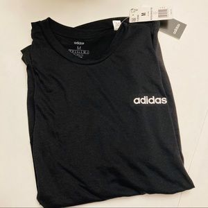 Adidas new black work out t shirt M, clima…